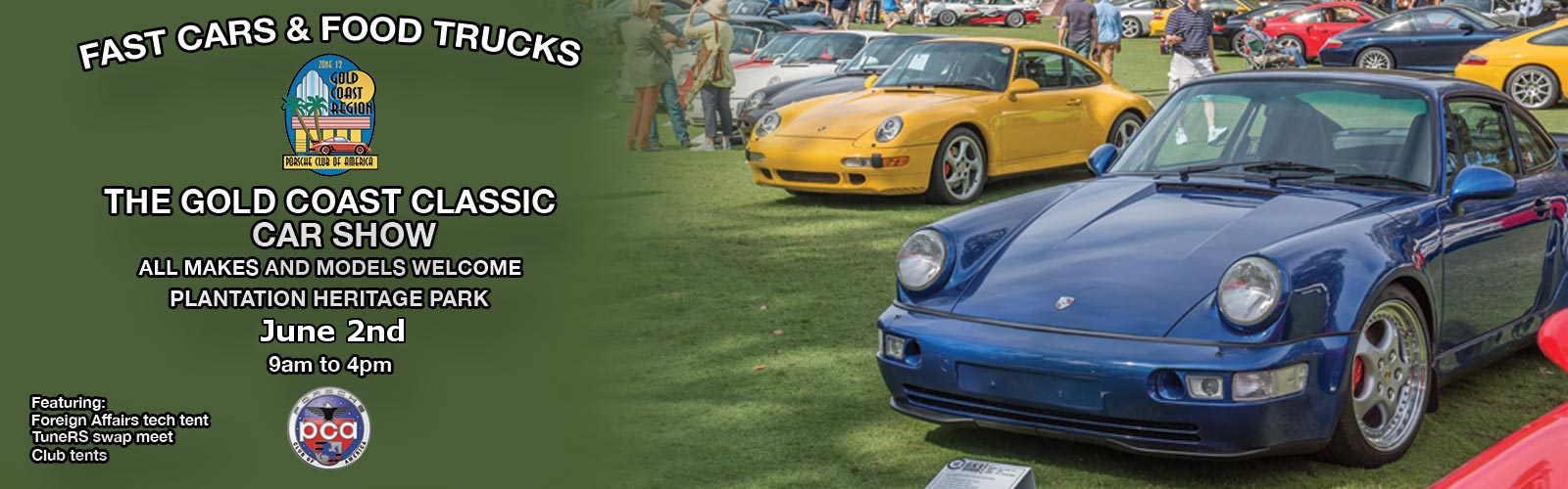 Eurofest Porsches Pancakes Gold Coast Region - Fort lauderdale car show